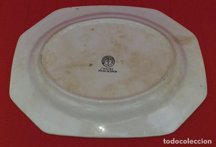 Antigüedades: BANDEJA LA CARTUJA DE SEVILLA PICKMAN - Foto 4 - 263934270