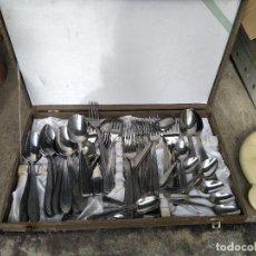 Antigüedades: CAJA CUBIERTOS. Lote 263956485
