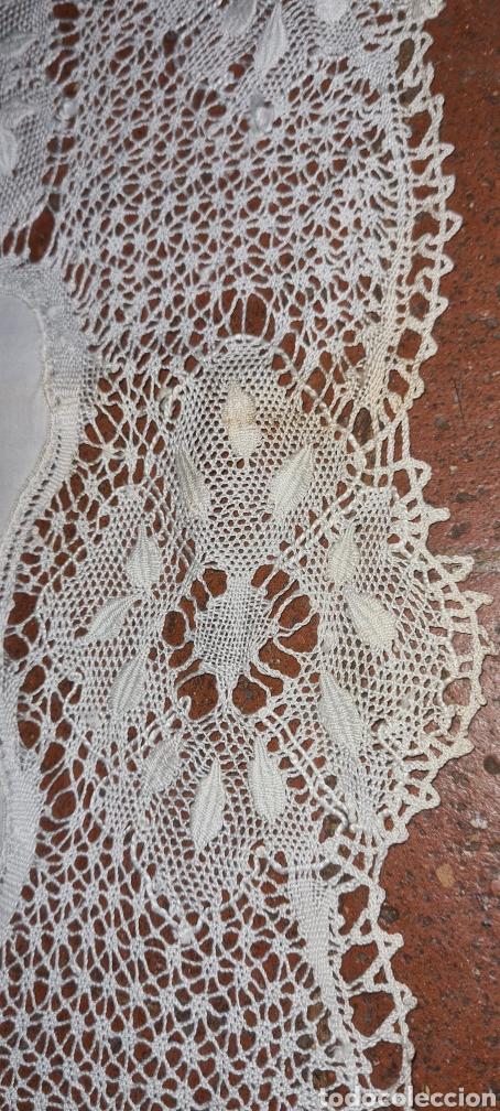 Antigüedades: Preciosa y antigua sabana . - Foto 5 - 263958730