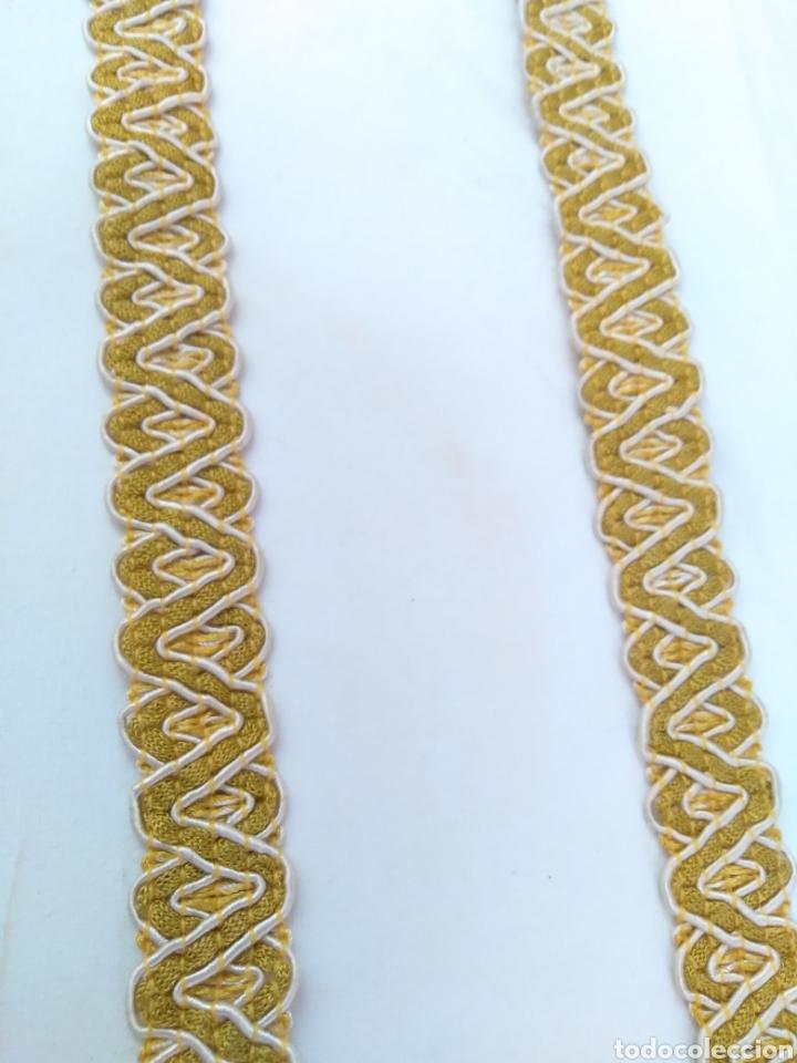 Antigüedades: Galón seda y oro - Foto 2 - 263958755