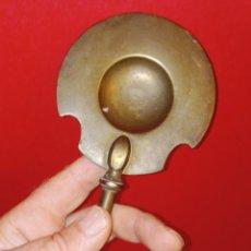 Antigüedades: ANTIGUO BADIL - PALA DE BRASERO - BRONCE DORADO - GRANDE -. Lote 263962440