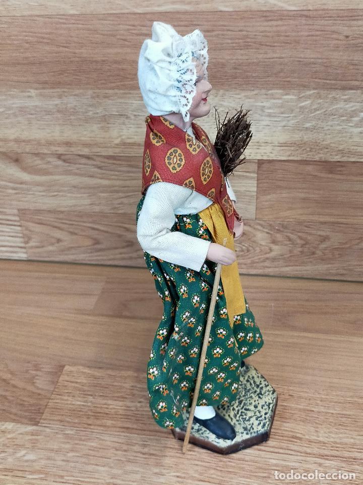 Antigüedades: ESCULTURA SANDRINA 28 CM en terracota - Foto 4 - 264049045
