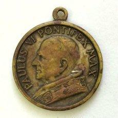 Antigüedades: MEDALLA RELIGIOSA. PAPA PABLO VI. VIRGEN DEL PERPETUO SOCORRO. Lote 264071610