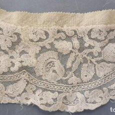 Antiquités: ANTIGUO CUELLO ENCAJE TAMBOR S.XIX. Lote 264072170