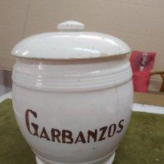 Antigüedades: GRAN TARRO DE GARBANZOS - PORCELANA DE MANISES - AÑOS 50/60 - MEDIDAS EN LAS FOTOS. Lote 264077275
