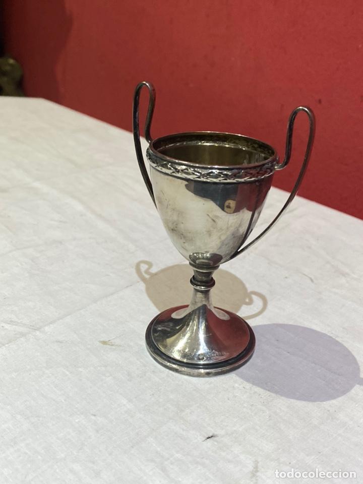 Antigüedades: Copa de plata 1945 . Golf concurso parejas - Foto 4 - 264131205