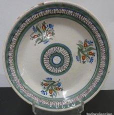 Antigüedades: PLATO DE RIBESALBES XVIII O XIX. Lote 264149240