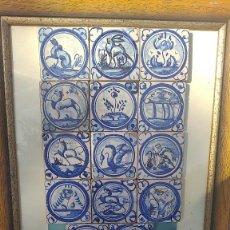 Antigüedades: CERAMICA TALAVERA OLAMBRILLAS ANTIGUAS TRIANA BUENA CONSERVACION. Lote 256042265
