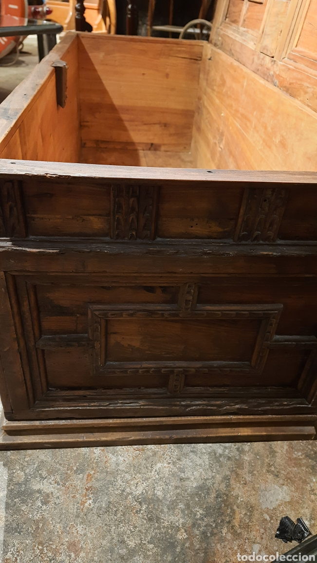 Antigüedades: Arca catalana S.XIX - Foto 6 - 262878270