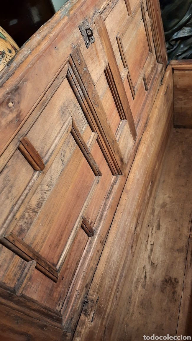 Antigüedades: Arca catalana S.XIX - Foto 7 - 262878270