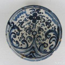 Antigüedades: CUENCO DE TERUEL, SIGLO XVIII. Lote 264171720
