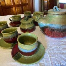 Antiguidades: JUEGO DE CAFE CERAMICO BIITTE. Lote 264175088