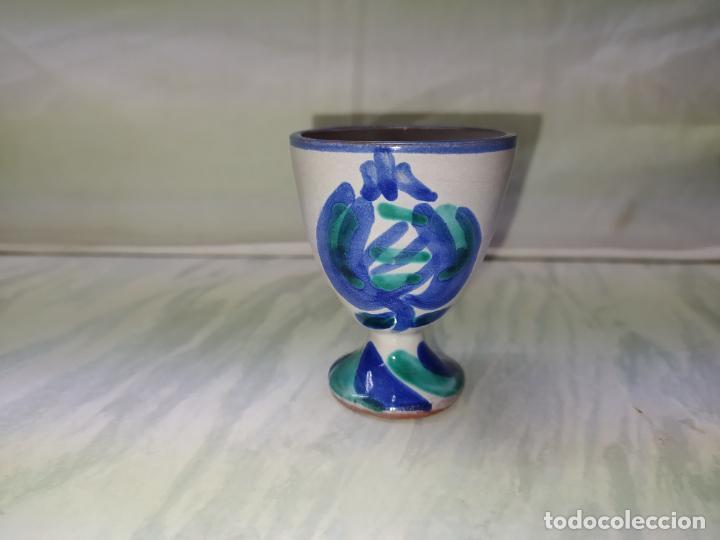 HUEVERA DE CERAMICA DE FAJALAUZA - GRANADA (Antigüedades - Porcelanas y Cerámicas - Fajalauza)