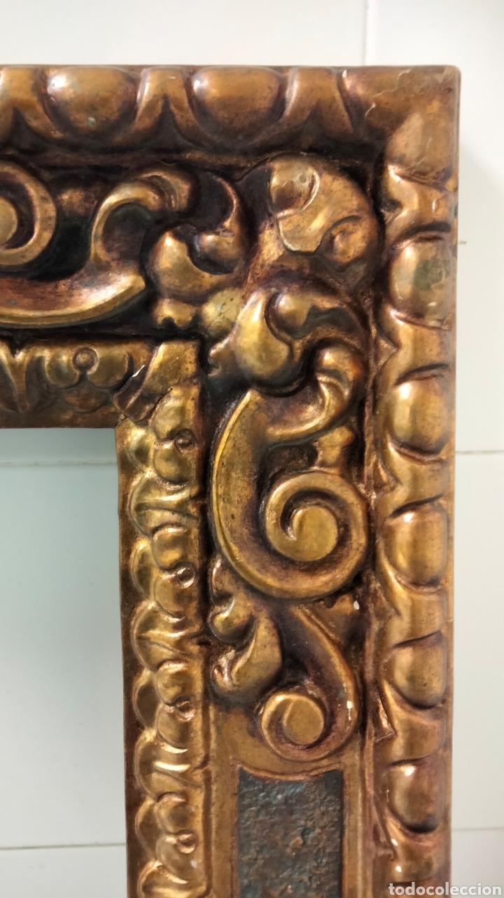 Antigüedades: ANTIGUO MARCO EN PAN DE ORO LEER DESCRIPCIÓN - Foto 4 - 264229964