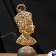 Antigüedades: ANTIGUA CAMPANA REINA DE INGLATERRA. Lote 264300212