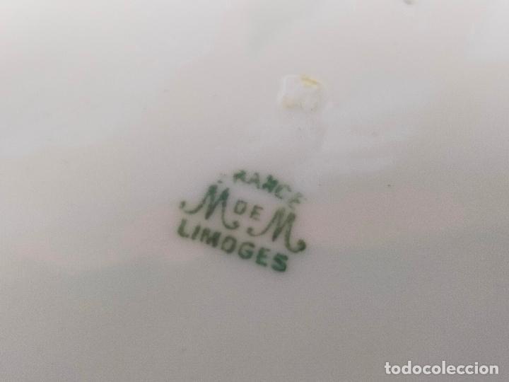 Antigüedades: SOPERA EN PORCELANA LIMOGES SELLADA - Foto 3 - 264346440