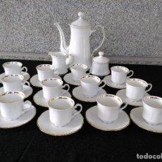 Antigüedades: JUEGO DE CAFÉ MITTERTEICH. Lote 264451414