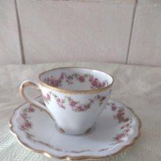 Antiquités: PRECIOSO SOLITARIO DE CAFÉ DE PORCELANA LANGENTHAL SUISSE. Lote 264508879