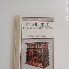 Antiquités: EL MUNDO DE LAS ANTIGÜEDADES. MUEBLE SIGLOS XV Y XVI. ITALIA Y CENTRO EUROPA.. Lote 264521539