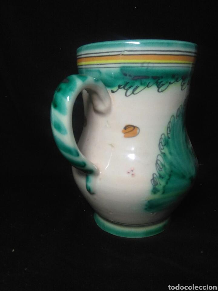 Antigüedades: Antigua ceramica siglo XIX ,jarron punte del arzobispo ,jarron figurado - Foto 5 - 264523574