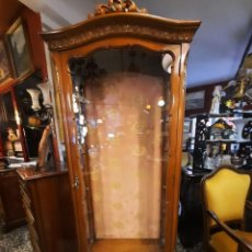 Antigüedades: VITRINA ESTILO ISABELINO-. Lote 264686609