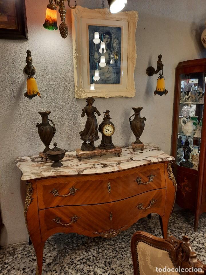 Antigüedades: pareja de apliques de iluminacion- - Foto 5 - 264690664