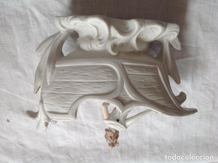 Antigüedades: Jardineríta en biscuit. Hacía 1900 - Foto 2 - 264733739