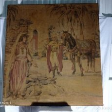 Antigüedades: ANTIGUO Y ESPECTACULAR TAPIZ ORIGINARIO DE BELGICA, MUY BONITO.. Lote 264747854
