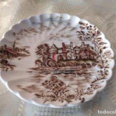 Antigüedades: PLATILLO DE TAZA DE CAFÉ DE PORCELANA ANCIENT TOWERS JOHNSON BROS MADE IN ENGLAND.. Lote 264783414