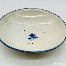 Antiquités: ANTIGUO PLATO FLOR DE PATATA TALAVERA. Lote 264849909