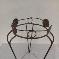 Antigüedades: MACETERO FORJA, PORTA MACETAS. Lote 264968919