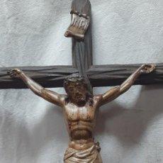 Antigüedades: CRISTO EN CRUZ. Lote 264981794