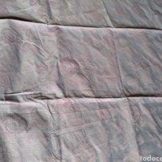 Antigüedades: RETAL BROCADO COLOR MALVA. Lote 265177814