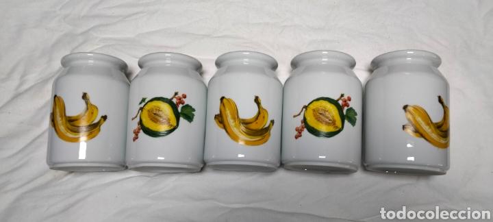 Antigüedades: Juego botes de cerámica para cocina - Foto 2 - 265328334