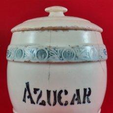 Antigüedades: BUCARO , TARRO , BOTE DE COCINA - MANISES. Lote 265345629