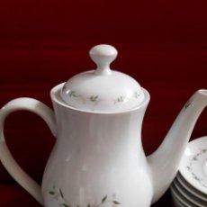 Antigüedades: JUEGO CAFÉ PORCELANA VISTA ALEGRE ADRIENE BY MARION VINTAGE. Lote 265385164