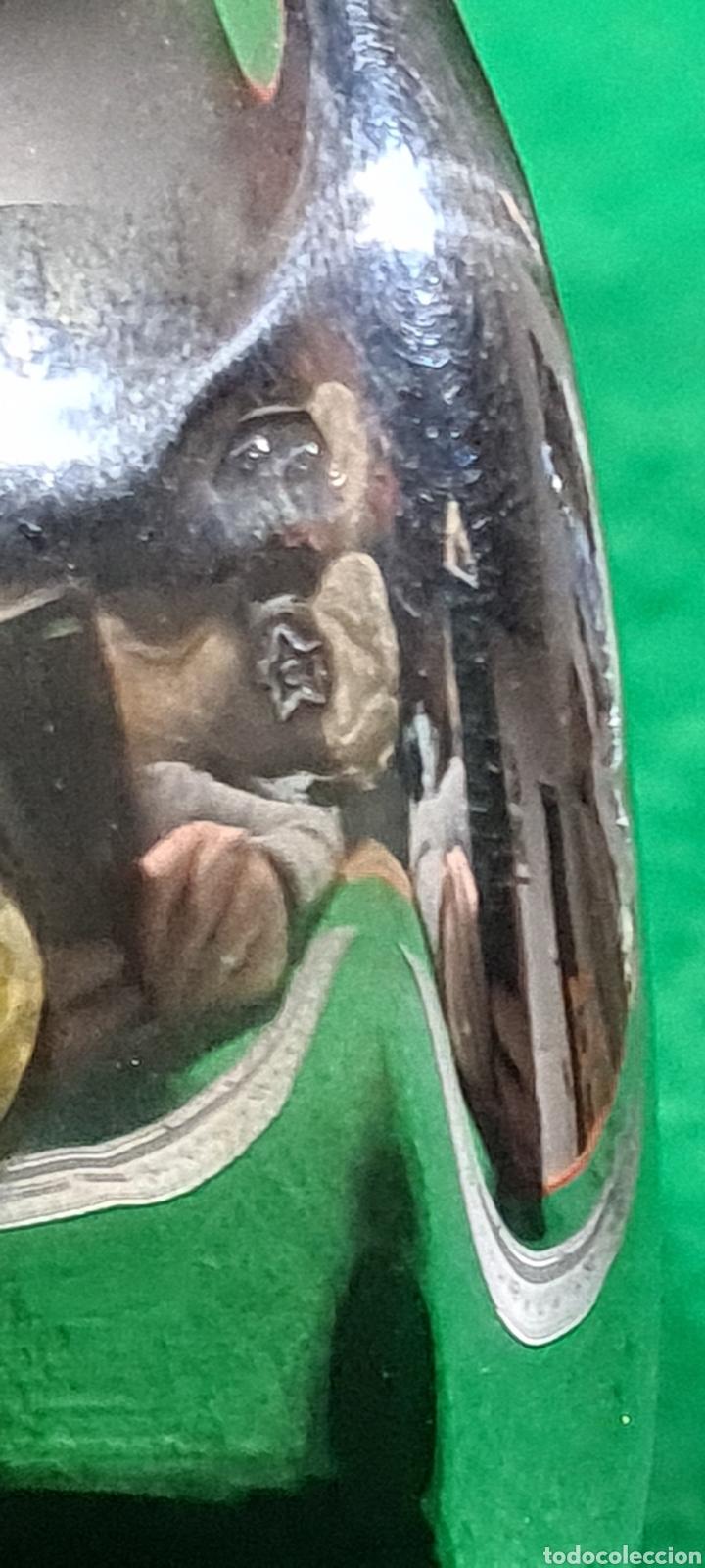 Antigüedades: Precioso candelabro, portavela. Con plata. - Foto 8 - 265438314