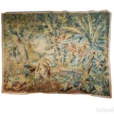 Antigüedades: TAPIZ SIGLO XVIII. Lote 265450419