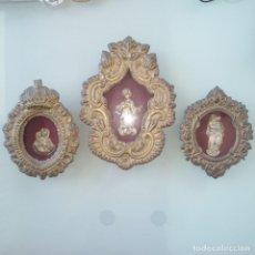 Antigüedades: ANTIGUOS RELICARIOS. Lote 265464959