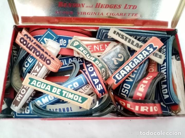 SUPER LOTE!! MÁS DE 1000 ETIQUETAS ANTIGUAS DE FARMACIA P.S.XX (Antigüedades - Cristal y Vidrio - Farmacia )