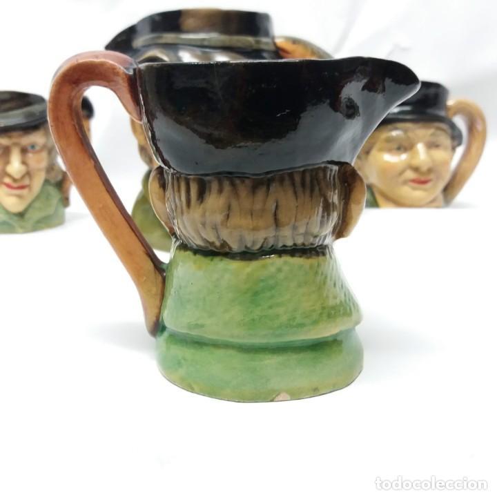 Antigüedades: Gran lote de jarras artesanales AR.CE.MI, Manises, Made in Spain, hechas a mano - Foto 9 - 265648254