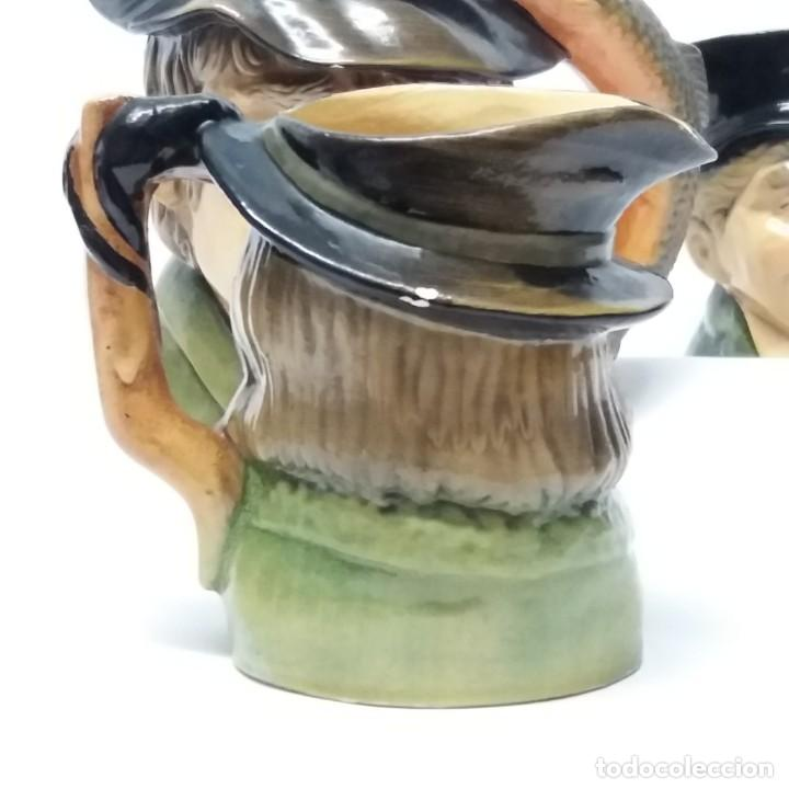 Antigüedades: Gran lote de jarras artesanales AR.CE.MI, Manises, Made in Spain, hechas a mano - Foto 14 - 265648254