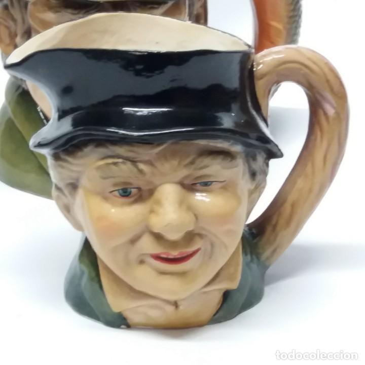 Antigüedades: Gran lote de jarras artesanales AR.CE.MI, Manises, Made in Spain, hechas a mano - Foto 18 - 265648254