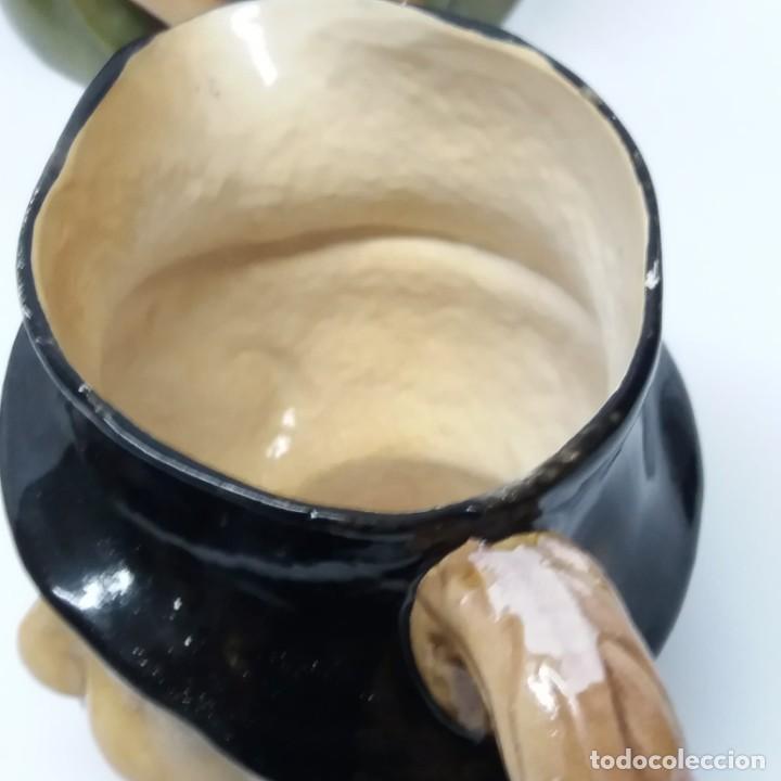 Antigüedades: Gran lote de jarras artesanales AR.CE.MI, Manises, Made in Spain, hechas a mano - Foto 20 - 265648254