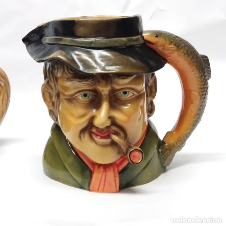 Antigüedades: Gran lote de jarras artesanales AR.CE.MI, Manises, Made in Spain, hechas a mano - Foto 22 - 265648254