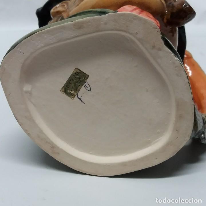 Antigüedades: Gran lote de jarras artesanales AR.CE.MI, Manises, Made in Spain, hechas a mano - Foto 25 - 265648254