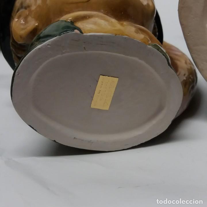 Antigüedades: Gran lote de jarras artesanales AR.CE.MI, Manises, Made in Spain, hechas a mano - Foto 26 - 265648254