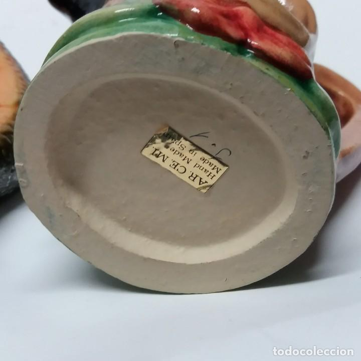 Antigüedades: Gran lote de jarras artesanales AR.CE.MI, Manises, Made in Spain, hechas a mano - Foto 27 - 265648254