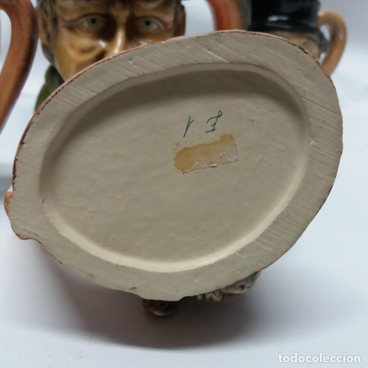 Antigüedades: Gran lote de jarras artesanales AR.CE.MI, Manises, Made in Spain, hechas a mano - Foto 29 - 265648254