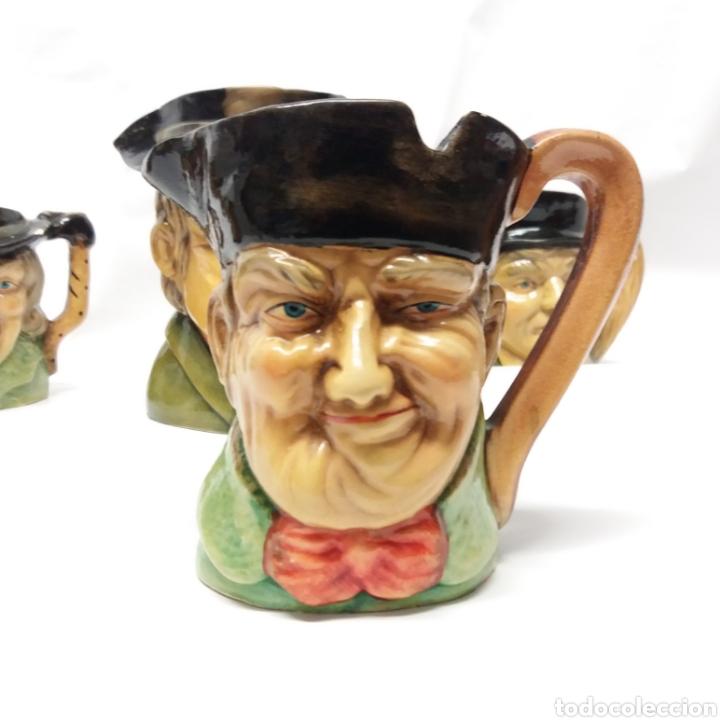 Antigüedades: Gran lote de jarras artesanales AR.CE.MI, Manises, Made in Spain, hechas a mano - Foto 8 - 265648254